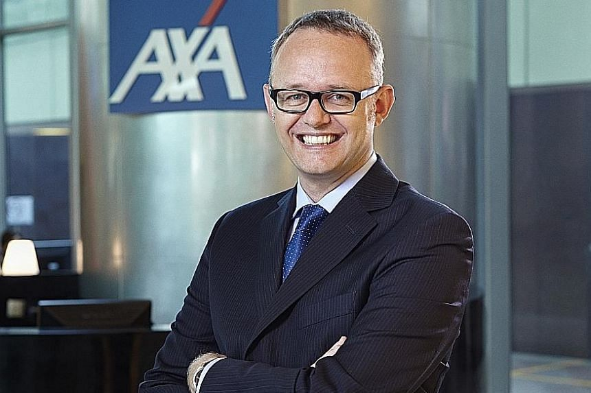 Mr Williams joined AXA in 2002 and rose through the ranks with stints in Hong Kong and the Philippines before coming to Singapore in 2011 to take on the role of chief executive.