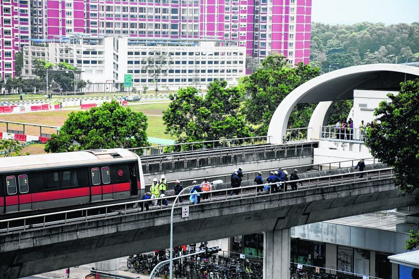 Two SMRT maintenance employees were killed in an incident on the tracks at Pasir Ris MRT station last Tuesday.