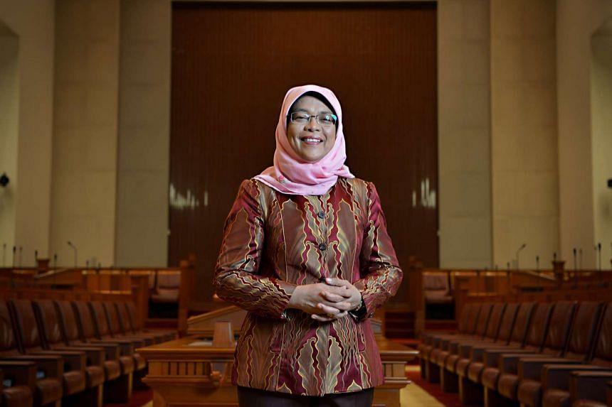 Speaker of Parliament Halimah Yacob