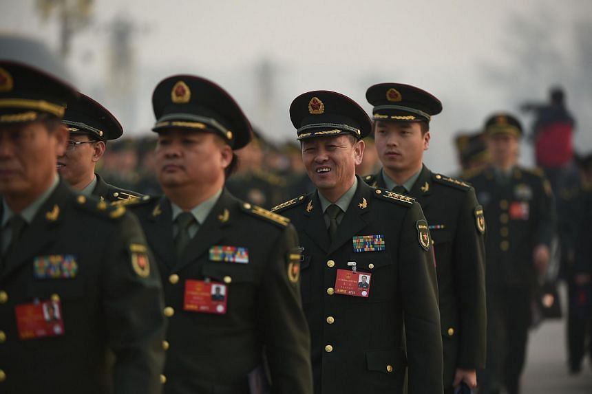 China's military will end so-called paid for services within the next three years.