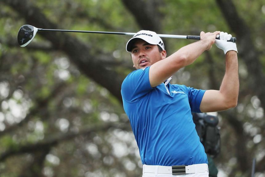 Jason Day of Australia hits his tee shot on the 12th hole at the World Golf Championships-Dell Match Play in Austin, Texas on Sunday (March 27).