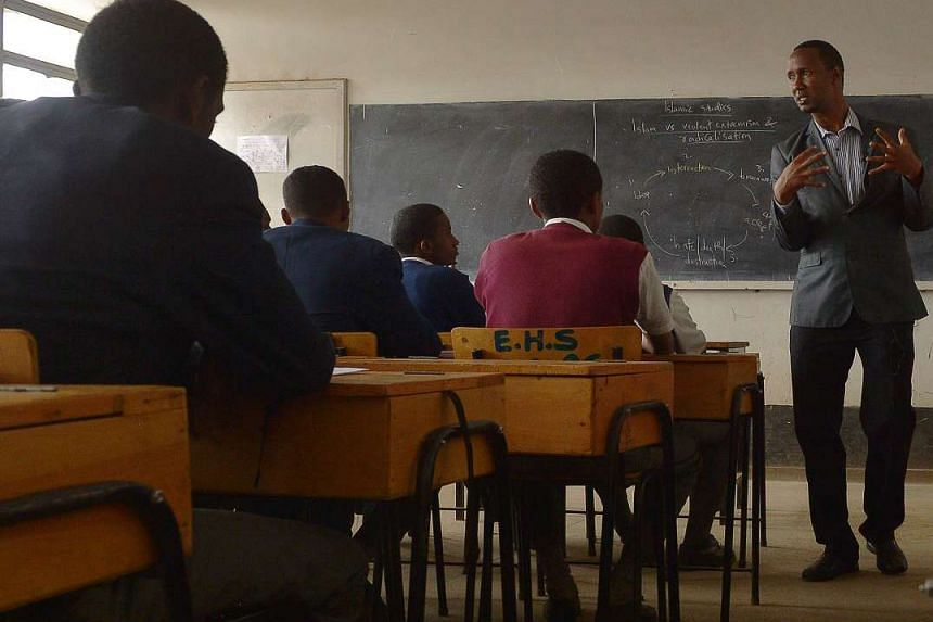 Mr Mohamud fights radicalisation in his school's area by helping students understand the correct teachings of Islam.