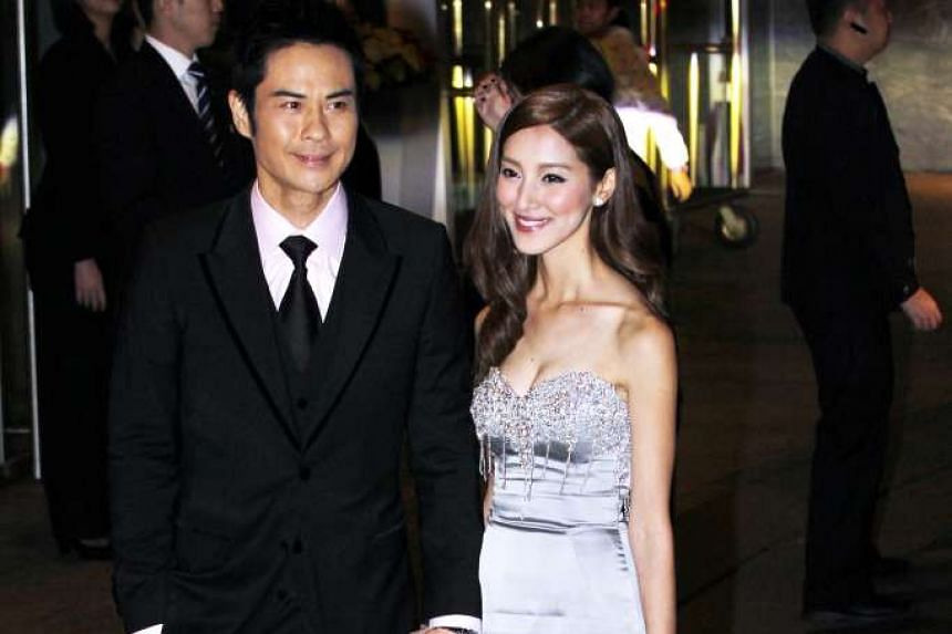 Grace Chan with Kevin Cheng.