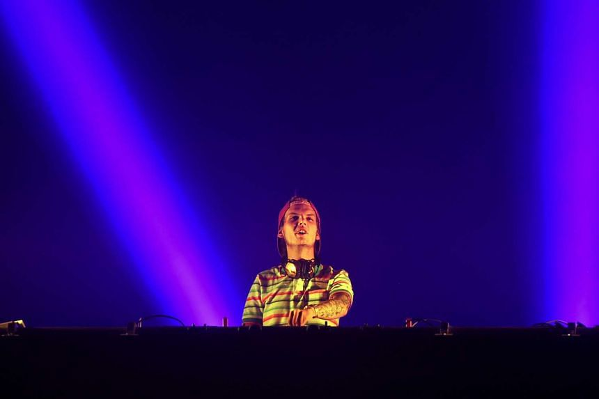 Swedish DJ, Tim Bergling, better known by 'Avicii', performing at the Sziget music festival on  Hajogyar Island, on August 14, 2015.