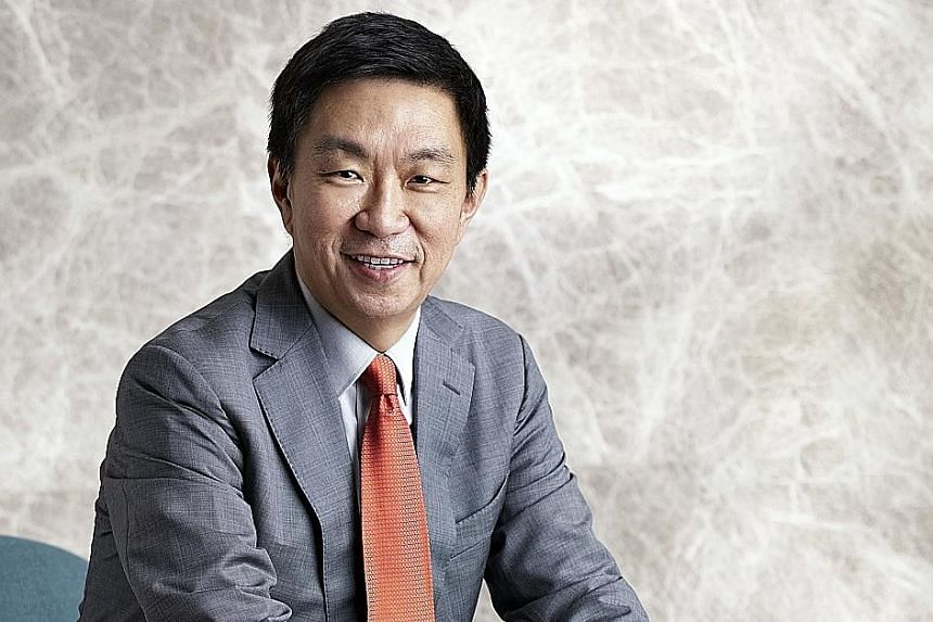 Keppel Corp CEO Loh Chin Hua has been asked if the group is now giving more emphasis to its property business, given the headwinds in the offshore and marine sector, but he says that is not the case. The group believes in building strong verticals in
