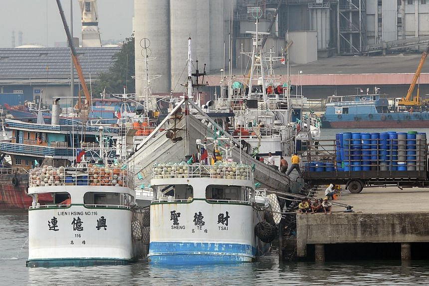 Two Taiwan fishing boats, Lien I Hsing No. 116 and Sheng Te Tsai, were allegedly shot at by an Indonesian patrol vessel on March 21, 2016.