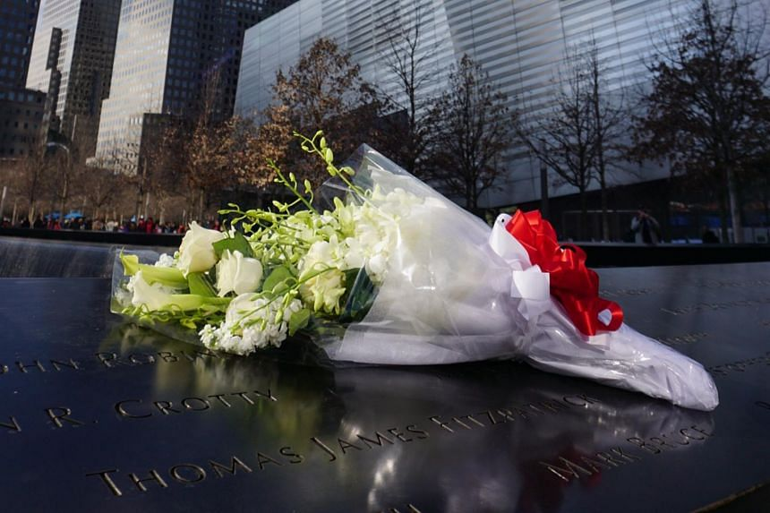 PM Lee Hsien Loong placed a bouquet of flowers and observed a moment of silence at the 9-11 Memorial in New York on Monday (March 28).