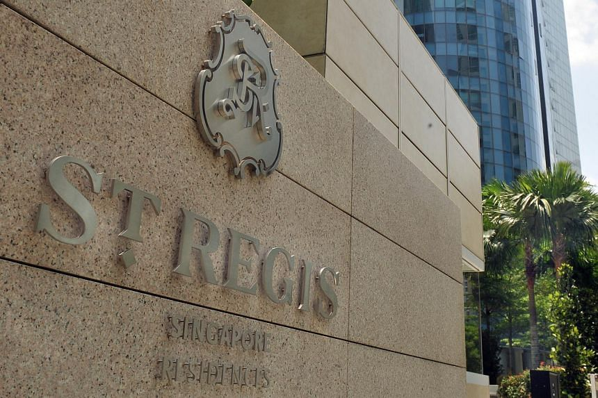 St Regis Residences at Tanglin Road.