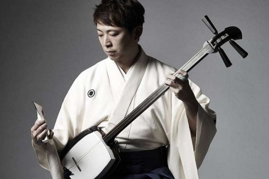 Musician Hiromitsu Agatsuma first performed on the shamisen when he was six years old.