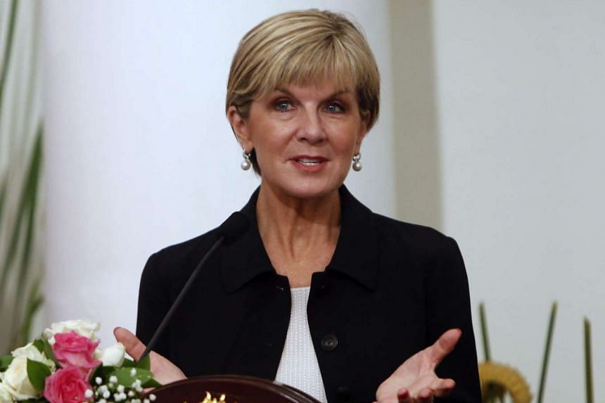 Australian Foreign Minister Julie Bishop said the uranium to be sold to Ukraine would be used for nuclear power generation.