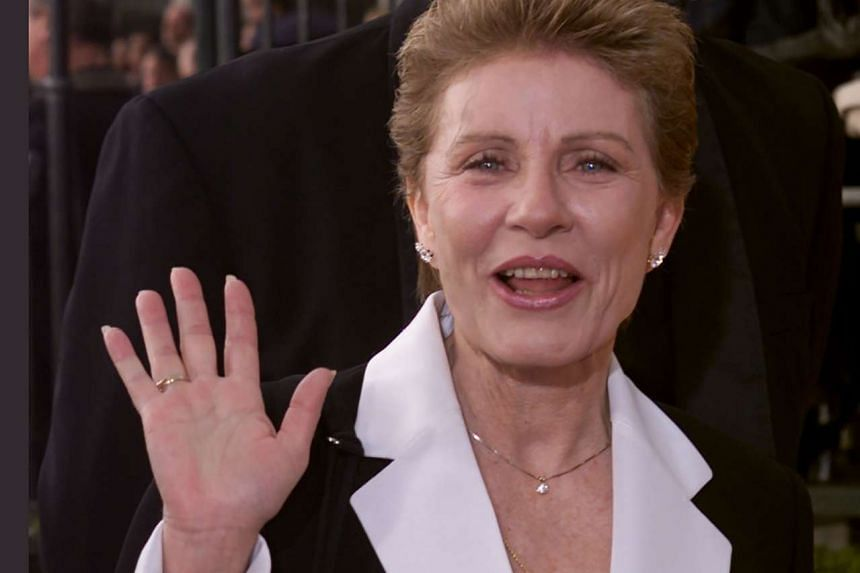 Actress Patty Duke arrives at the 7th annual Screen Actors Guild Awards at the Shrine Auditorium in Los Angeles, in this file photo taken on March 11, 2001.