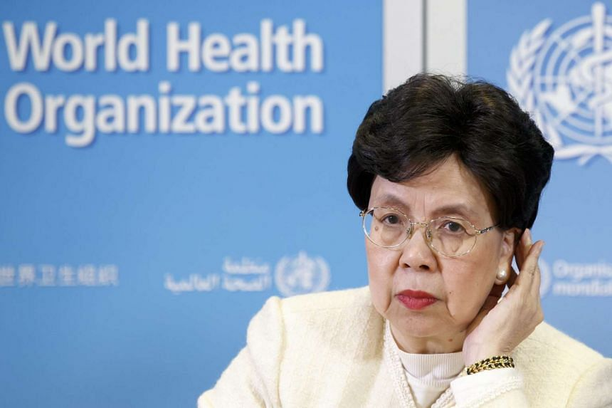 China's Margaret Chan, General Director of the World Health Organization (WHO) speaks to the media after The International Health Regulations Emergency Committee on Ebola, during a press conference, at the WHO headquarters in Geneva, Switzerland, on