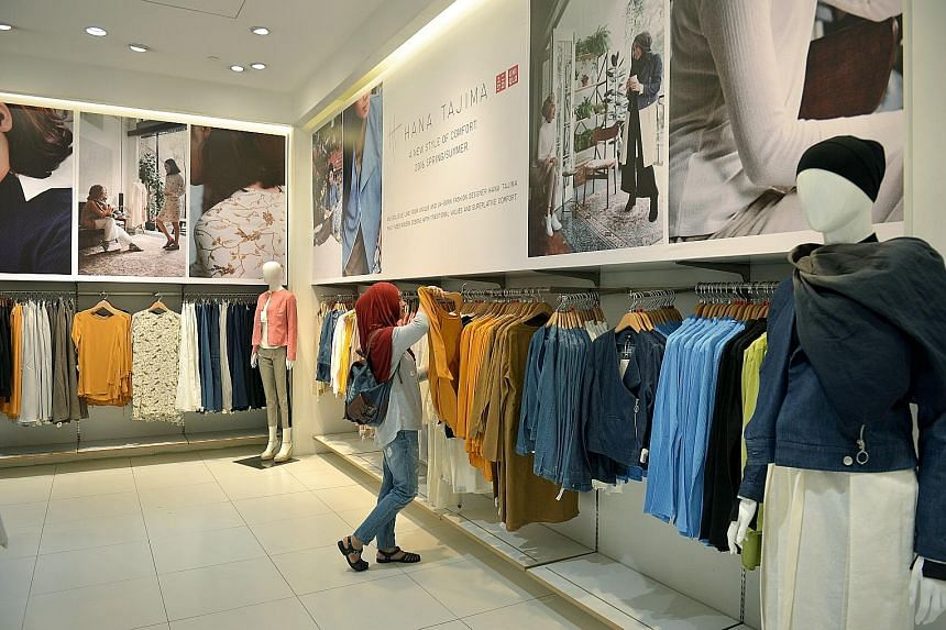 Japanese clothing brand Uniqlo's outlet at 313@Somerset. Despite an economic downturn that is squeezing the retail sector on all sides, Uniqlo plans to open a 2,700 sq m flagship store at Orchard Central in the third quarter. US smoothie chain Smooth