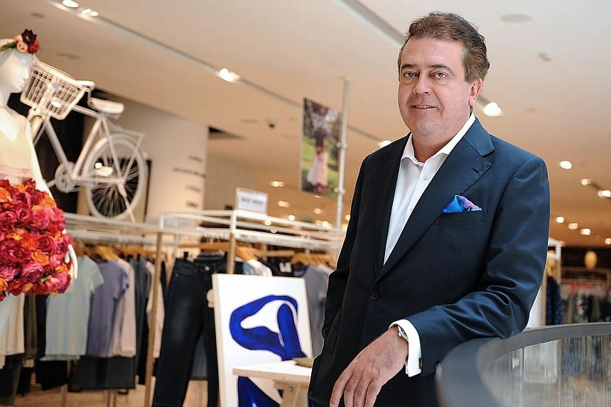 Mr Cann says having new concepts and new brands are ways to keep customers' money in Singapore.