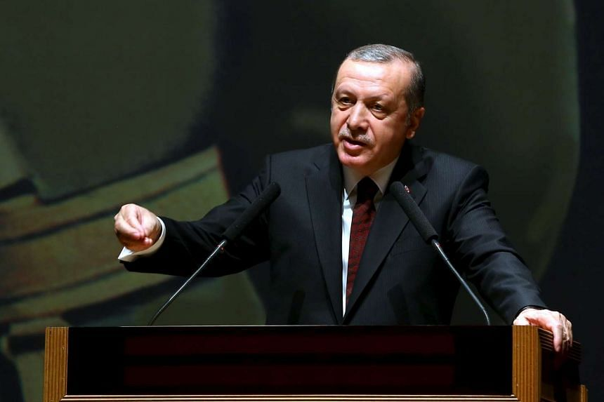 A Twitter hashtag supporting Turkey's President Recep Tayyip Erdogan, #WeLoveErdogan, was propelled late Tuesday (March 29) into the top trending worldwide hashtags on Twitter.