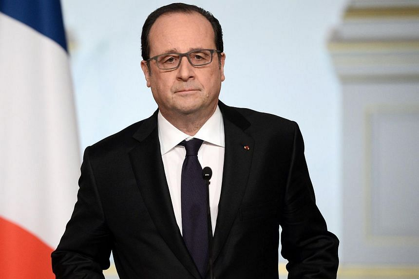 "French President Francois Hollande announced he was ""closing the constitutional debate"" on his plan for constitutional reforms on March 30, 2016."