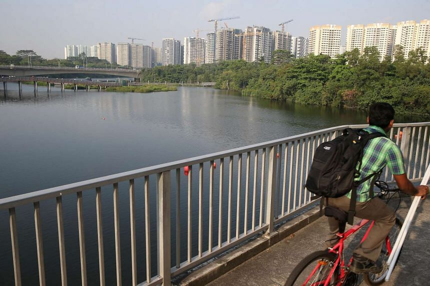 The three-hour PSI reached 80 at around 8am on March 30, 2016, at Sengkang West.