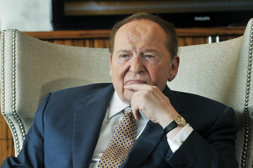 Sheldon Adelson, chairman and CEO of Las Vegas Sands.