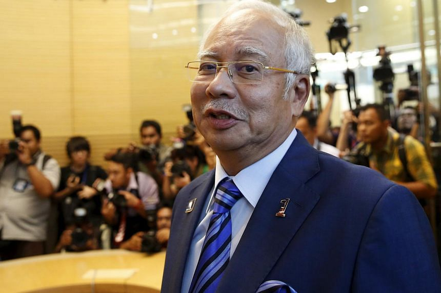 Malaysia's Prime Minister Najib Razak at the opening of the new World Bank offices in Kuala Lumpur, Malaysia, on March 28, 2016.