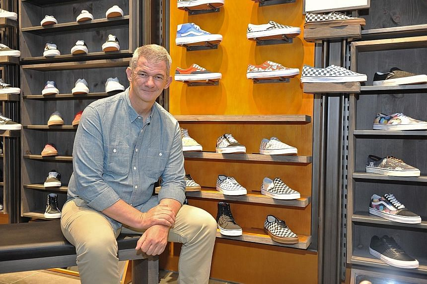 President of Vans Kevin Bailey has been credited for the brand's expansion into Asia.