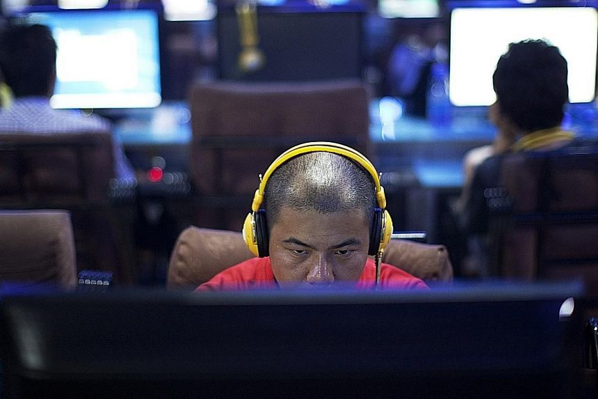 An Internet cafe in Beijing. The Chinese government plans to more strictly manage websites in the country in its latest push to set boundaries in the wider online sphere.