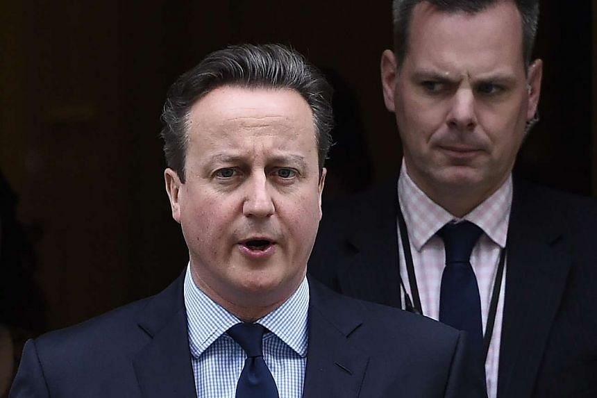 UK Prime Minister David Cameron is expected to unveil a nuclear waste deal to help fight cancer at an international summit in Washington on March 31, 2016.