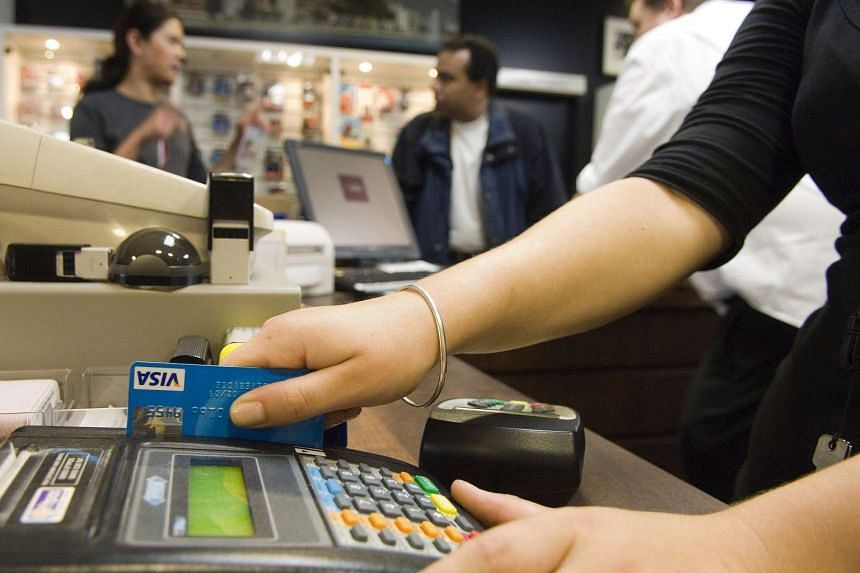 Credit card spending here has not dropped significantly despite the fragile economy.
