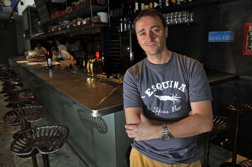 English chef Jason Atherton.