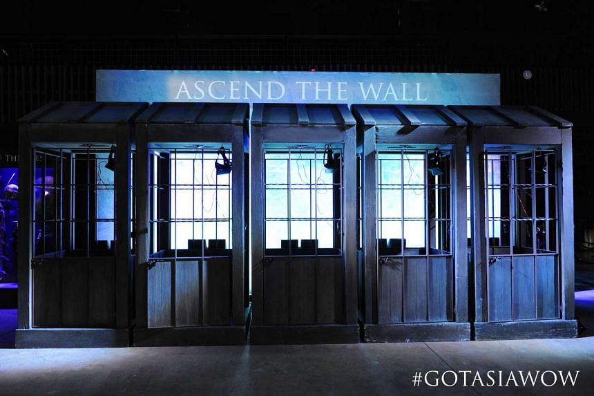 The Game Of Thrones Experience: World Of Westeros is a free interactive event that will take place at Ion Orchard this weekend.