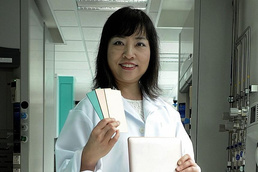 The new material avoids the creation of toxic waste, says SimTech's Dr Wu.