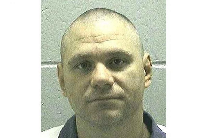 Joshua Bishop in an undated picture from the Georgia Department of Corrections.