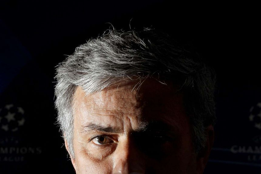 Jose Mourinho at a press conference in London in 2011.