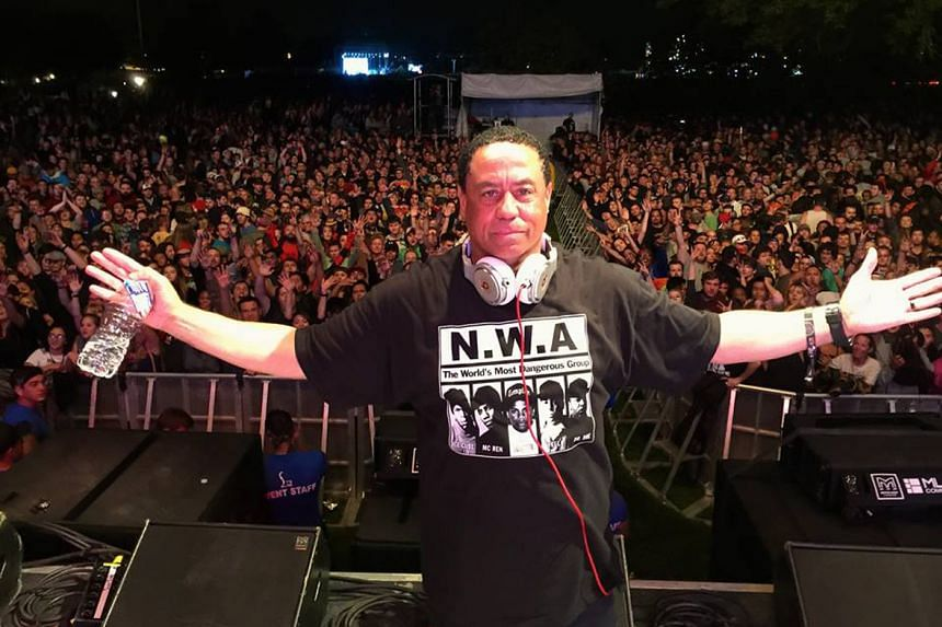DJ Yella will be doing his first set in Singapore at Ce La Vi tonight.