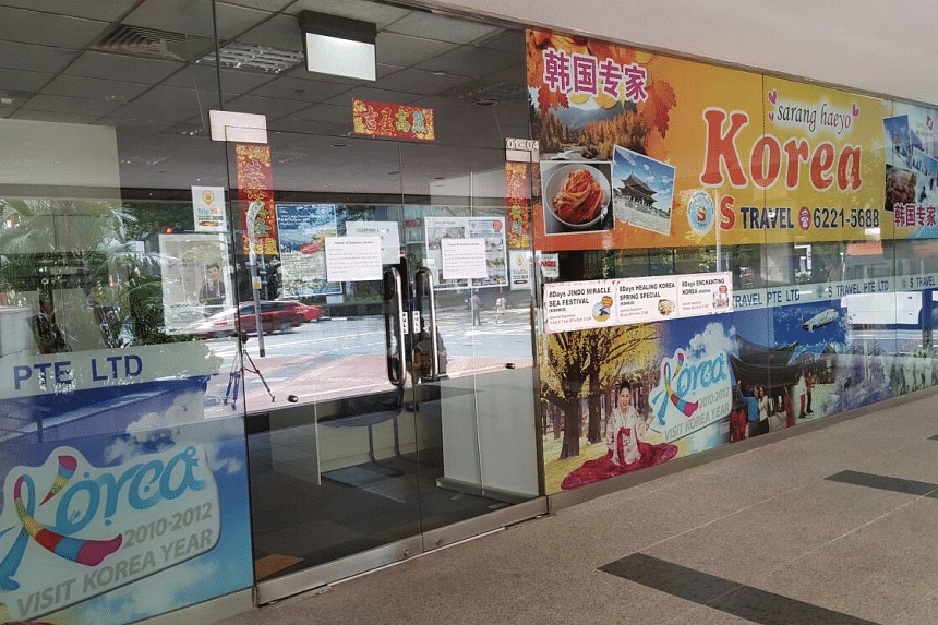 S Travel, a travel agency specialising in trips to South Korea, has winded up its business. In a note pasted outside its office along Anson Road, the firm said that it has ceased operations due to unforeseen reasons.