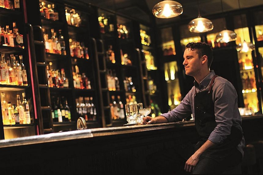 28 HongKong Street bar, helmed by head bartender Logan Demmy (above), was crowned the best bar in Asia.
