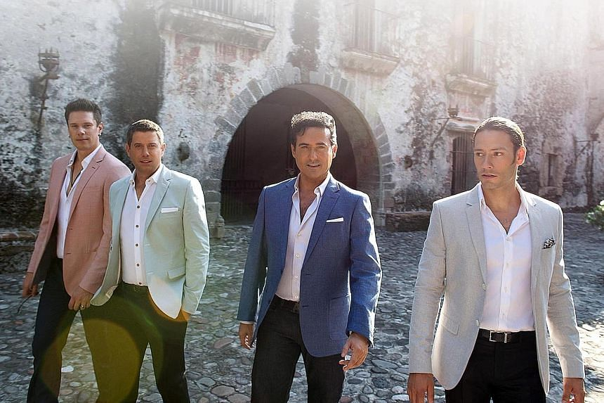 Il Divo (from far left, David Miller, Sebastien Izambard, Carlos Marin and Urs Buhler) proved naysayers wrong and have sold more than 30 million albums.