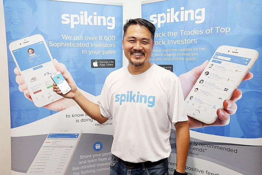Mr Chiang spent 20 months and about $250,000 to develop Spiking. The app is free but by invitation only.