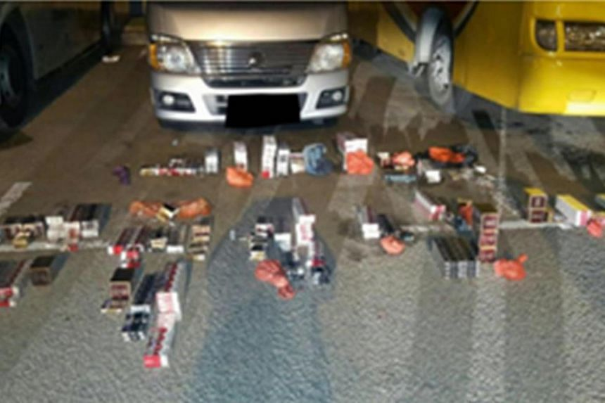Police seized 74 cartons, 164 packets and 25 sticks of duty unpaid cigarettes.