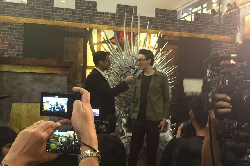 The fan meet was part of a HBO Asia event to promote Game Of Thrones' sixth season.