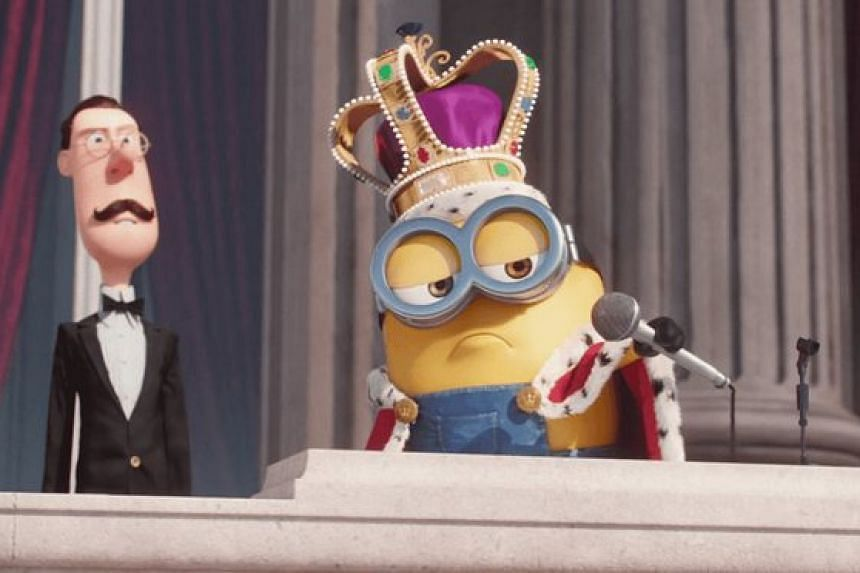 """Google added an extra """"MicDrop"""" send button to its email service that included a gif of a minion."""