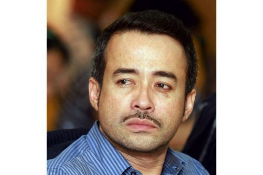 Actor Tony Eusoff was said to be in Singapore to film an upcoming drama.