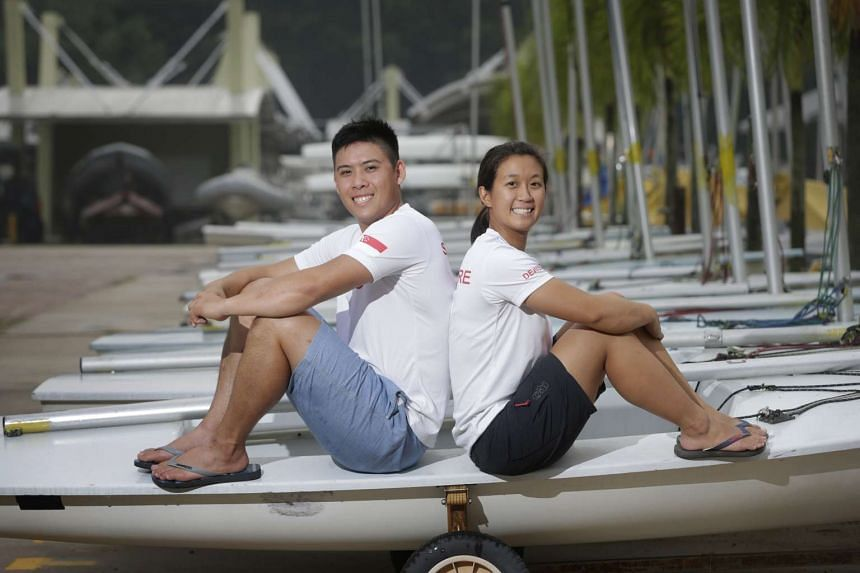 Sailors Justin Liu and Denise Lim also sealed their Olympic berth in the mixed-gender multi-hull Nacra17, finishing 20th out of 42 sailors in Spain.