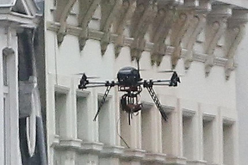 Part of Mr Obama's nightmare scenario includes terrorists using drones to spread radioactive material. According to a British official, there has been evidence that terror group ISIS is trying to obtain commercial drones.