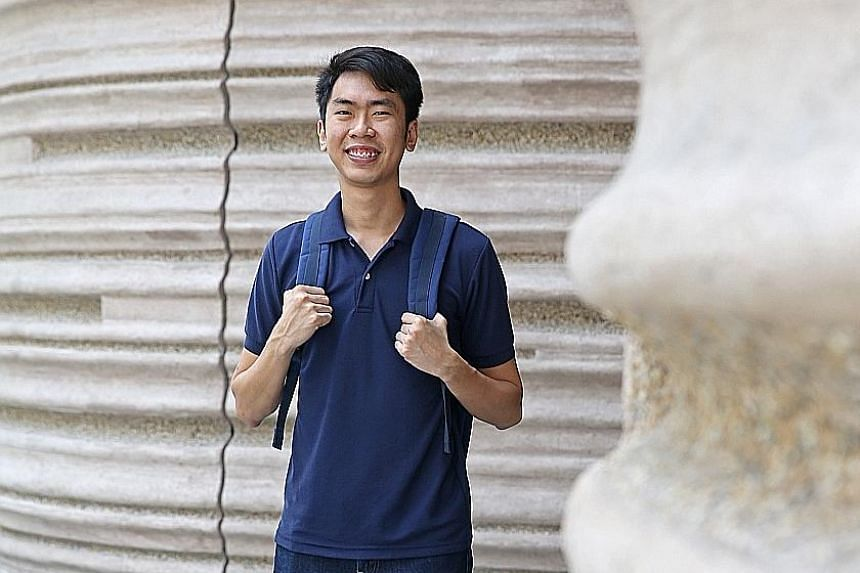 Mr Mung is studying electrical and electronic engineering with a minor in business at Nanyang Technological University. He is also running a shirt-printing company and a graphic calculator rental service, which also develops websites and marketing st