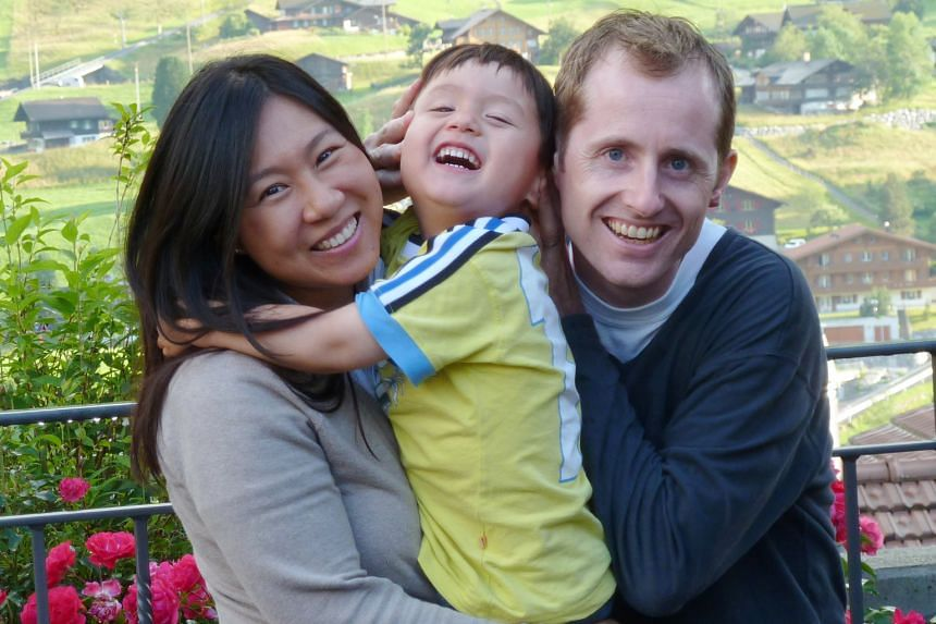 The Friis family – Ms Elaine Ng-Friis, 41, her Danish husband Florian Friis, 42, and their son Joshua, seven – live in Denmark, which has a strong culture of work-life balance.
