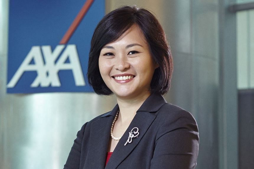 AXA's plans ensure customers are fully protected for a year upon hospital discharge, says Ms Kwek-Perroy Li Choo.