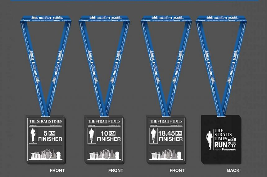 ELM medals await runners: ST Run in the City 2016 participants who complete their respective races will each receive a medal made by Eng Leong Medallic (ELM) Industries. ELM also created medals for the ST Run at the Hub and the SEA Games in Singapore