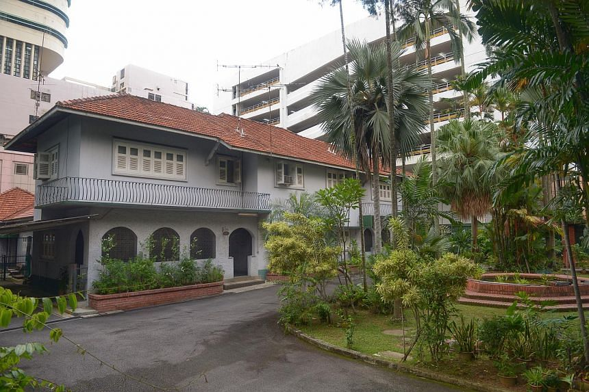The property at 9 Cuscaden Road.