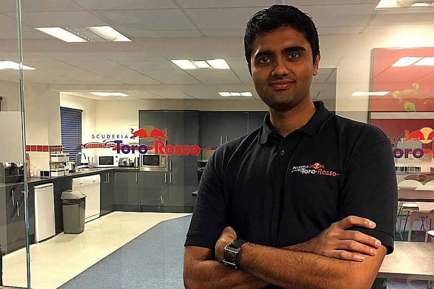 Currently the only Singaporean engineer working in Formula One, Gautham Ramesh is living out his childhood dream.