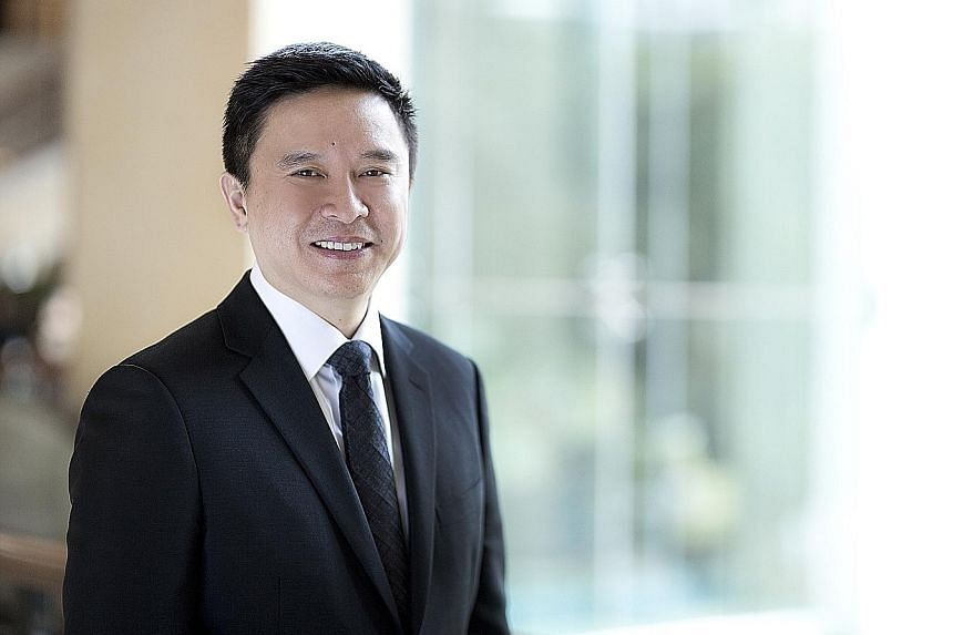 Mr Koh is the first Singaporean to head UBS' wealth management in Asia-Pacific, and is also the bank's global head of affluent and its country head in Singapore.